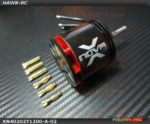 Xnova 4020-2Y-1200KV Shaft A
