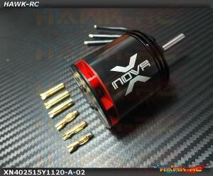 Xnova 4025-1.5Y-1120KV Shaft A