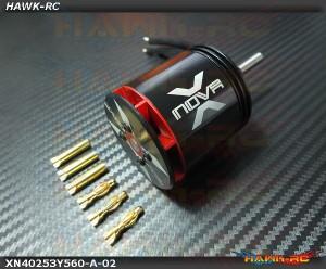Xnova 4025-3Y-560KV Shaft A