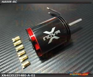 Xnova 4035-2.5Y-480KV Shaft A