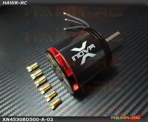 Xnova 4530-8D-500KV 10P Shaft A