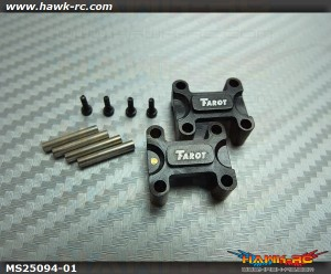 Tarot 250/SE Metal Tail Boom Holder (Black)