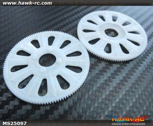 Tarot 250/SE Main Gear(120T) 2pcs (White)