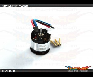 Tarot 250 Size Brushless Motor 3S 3900KV (2.5mm Shaft)