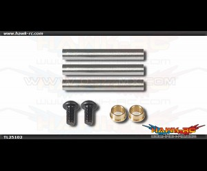 Tarot 250/SE 3G Head Feathering Shaft (3pcs)