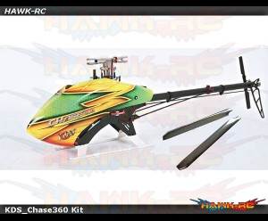 KDS CHASE 360 Kit (With Main/Tail Blades) V3