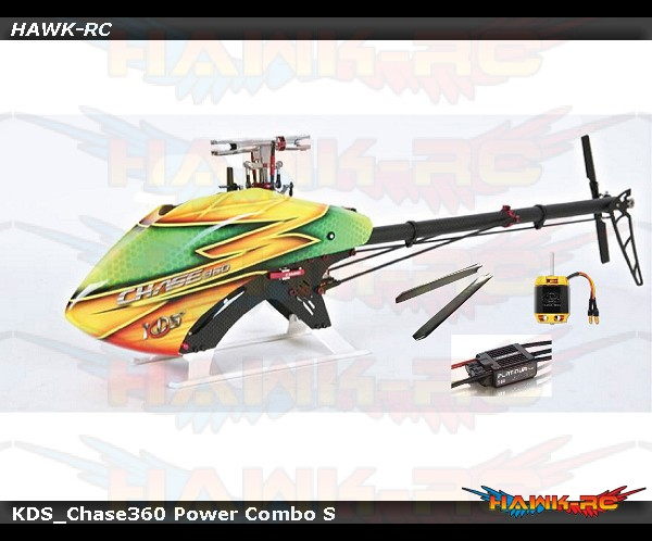 CHASE 360 Power Combo S (Kit +50A V3 ESC +2520-1880KV) V3