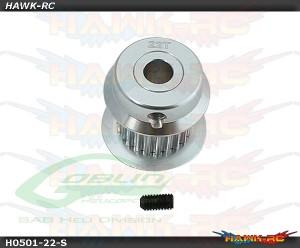 Aluminum Motor Pulley 22T - Goblin 380