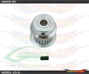 Aluminum Motor Pulley 23T - Goblin 380