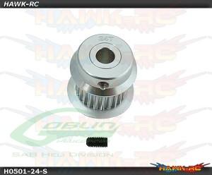 Aluminum Motor Pulley 24T - Goblin 380