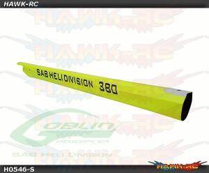 Carbon Fiber Tail Boom Yellow - Goblin 380