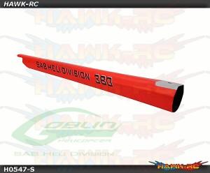 Carbon Fiber Tail Boom Red - Goblin 380
