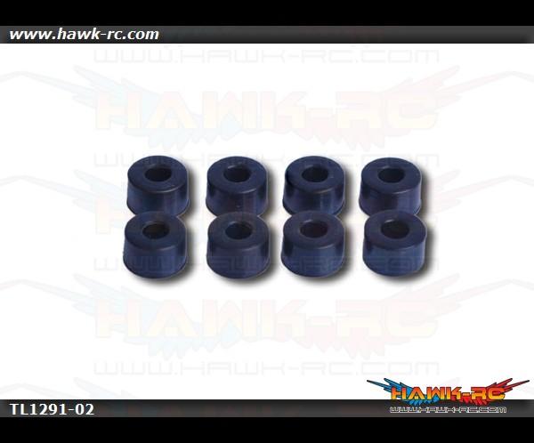 Tarot 450Pro V2 Damper Black 80° x 10pcs