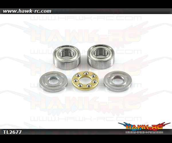 Tarot Bearing Set For 450Pro/V2 Main Blade Grip (1 set)