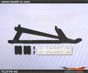Tarot 450 Sport CF Landing Skid Replacement (1pc)