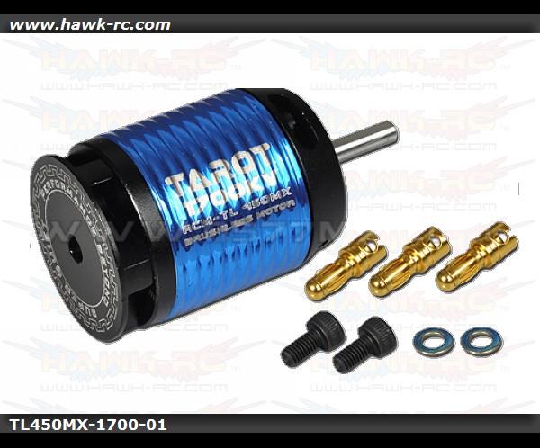 Tarot 450MX 1700KV 6S Brushless Outrunner Motor
