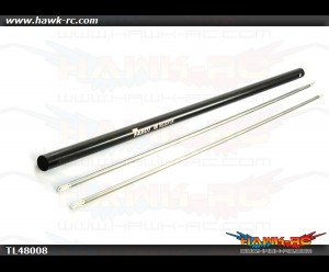 Tarot 450Pro/V2 Stretch Torque Tube & Tail Boom Set