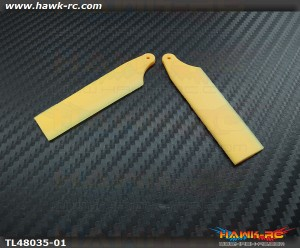 65mm Tail Blades (for 350~360mm Main Blade Size)