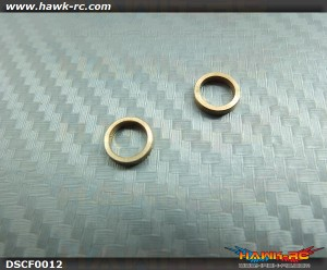Tarot 450Pro/V2 Main Gear Oneway Bearing 1.6mm Spacer (2pcs)