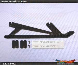 Tarot 450Pro/V2 CF Landing Skid Replacement (1pc)