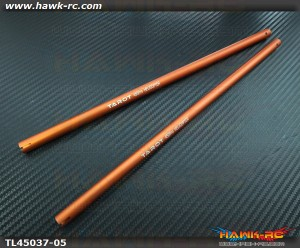 Tarot 450PRO/V2/Sport Tail Boom (Orange, 2pcs)