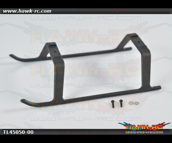 Tarot 450Pro One Piece Landing Skid (Black)