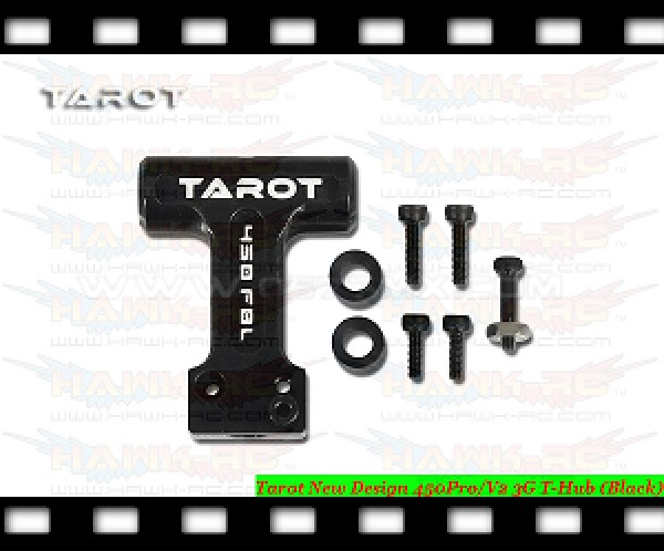 Tarot New Design 450Pro/V2 3G T-Hub (Black)
