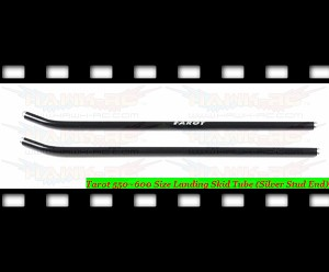 Tarot 550~600 Size Landing Skid Tube (Silver Stud End)