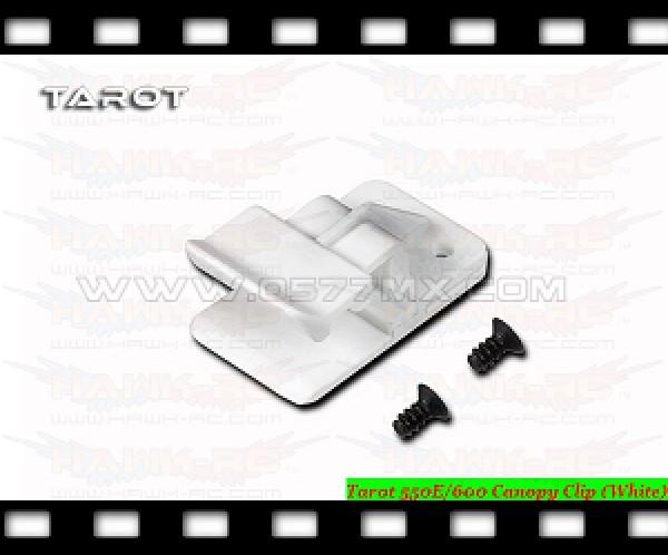Tarot 550E/600 Canopy Clip (White)