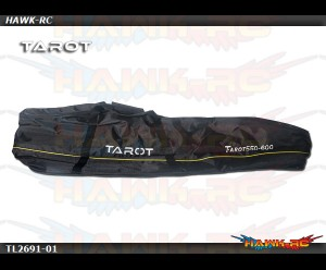 Tarot 550-600 Size Heavy Duty Heli Carry Bag (Black)