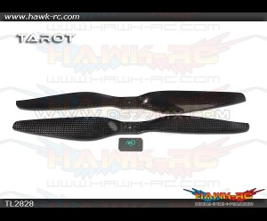 Tarot T Series 1255 High End Carbon Fiber Propeller Set