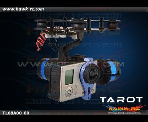 Tarot 2-Axis Brushless Gimbal W/Gyro GoPro Hero 3 Ready