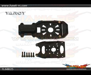 Tarot Φ16 Clamping Motor Mount (Black)