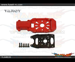 Tarot Φ16 Clamping Motor Mount (Red)