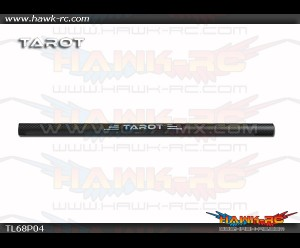Tarot Φ16 3K Matte Pure Carbon Tube (275mm)