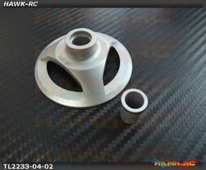 Tarot 550-800 Swashplate Leveler (Silver, 10/12mm)