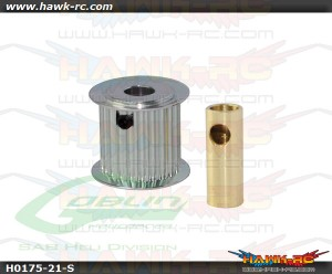 Aluminum Motor Pulley 18T (for 6/8mm motor shaft) - Goblin 770/Goblin 700 Competition