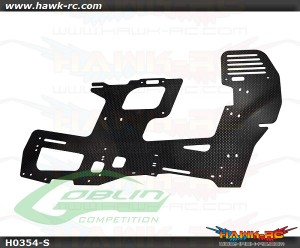 Carbon Fiber 2mm Main Frame (1pc) - Goblin 700 Competition