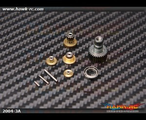 N590 Metal Servo Gears Set