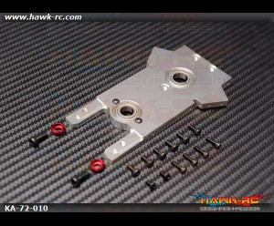 Main Shaft Middle Bearing Mount (Main Top Plate) - Agile 7.2