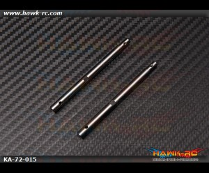 Tail Shaft (2pcs) - Agile 7.2