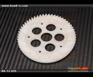 CNC POM Front Spiral Bevel Gear - Agile 7.2