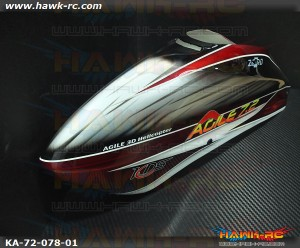 Stock Canopy (Red/Silver) By Zero - Agile 7.2