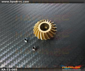 Intensify Back-End Drive Spiral Bevel (Metal Rear Gear) 20T - Agile 7.2