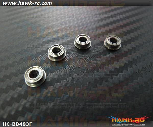 NMB MF84ZZ Fanged Bearings 4x8x3 (4pcs, 61-4083) For WARP 360