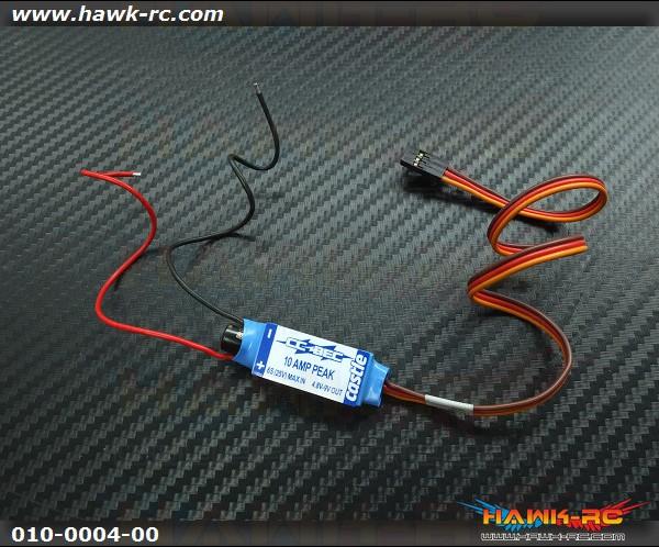CASTLE BEC 10A Peak 25V Max Input Adjustable BEC