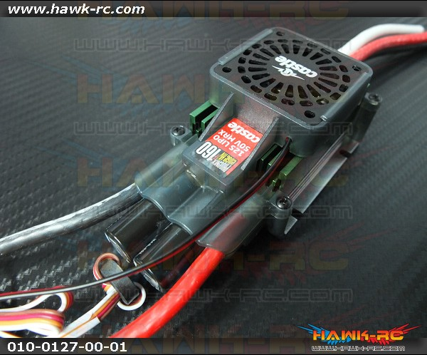 Castle Creations Phoenix Edge 160HVF w/ Cooling Fan, No BEC