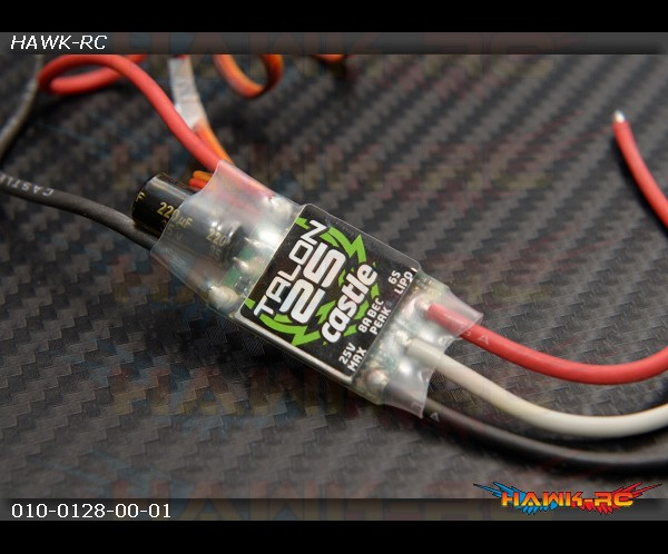 Castle Creations Talon 25 ESC 25A 25.2V Speed Control Helicopter