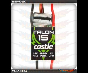 Castle Creation Talon 15, 15AMP ESC