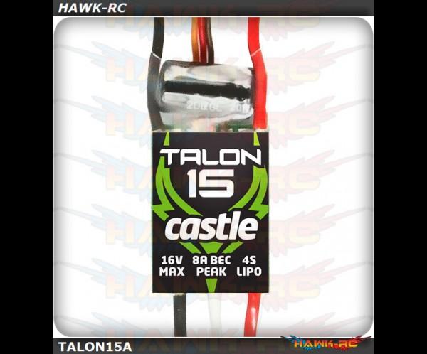 Castle Creation Talon 15, 15AMP ESC